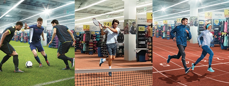 Decathlon Villesse italy