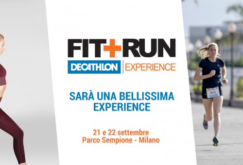Fit+Run Decathlon Experience