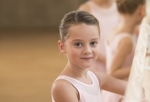 La danza da bambini.