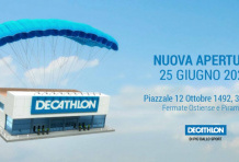 Decathlon apre a Roma Ostiense